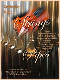 Strings and Pipes Concert Photo